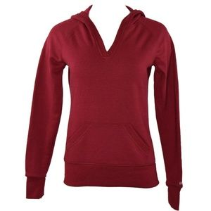 Soffe V-Neck Hooded Kangaroo Pocket Sweatshirt NWT
